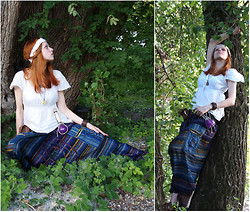 Sarah Pusteblume - Omnia Amulet, Diy   My First Try In Sewing Leather! Leather Belt Bag, Aladdin Pants With Pockets!, Kiki's Delivery Service Ost   ウルスラの小屋へ - To Ursula's Cabin