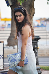 Amanda R. - Mango Dress, Diy Clutch - WIN this clutch! - Something Fashion