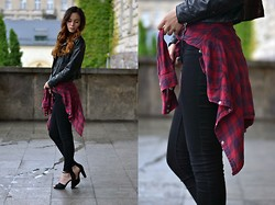 Native Gal - Cheap Monday Black Jeans - All that grunge