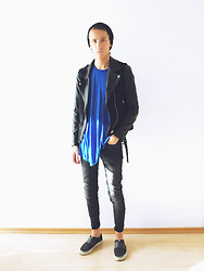 Christoph Amann - Zara Jacket, Topman Shirt, Topman Jeans, Puma Shoes - You put me back in line .
