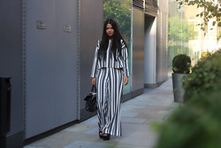 Millie Cotton - Weekday Top, Weekday Trousers, Mulberry Bag - LFW | Day One