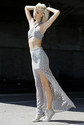 Jenny Parry - For Love & Lemons Top, For Love & Lemons Skirt, Converse Shoes - End of summer