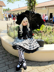 Vamp B. - Baby, The Stars Shine Bright Parasol, Selfmade Skirt - Yes, my lord!