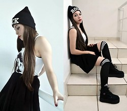 Stephanie Szpilman - I Made My Skirt, Adidas - Knee Socks