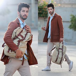 HAMID KHOUYI - Hoodboyz Konored, Aboutthislook Read More, Similar Fall Leaves Colors - MAKE THE STREET YOUR RUNWAY