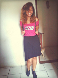 Yasmim Berhends - Diy   Customization -  Star Wars Pink Shirt