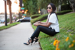 Joan Nguyen -  - Black and White Get-up