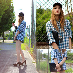 Anova -  - WHAT ABOUT A CHIC LUMBERJACK SHIRT