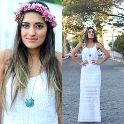 Amanda Coutinho -  - Dress White