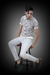 WaLiD EnaMMouRi - Dr. Martens Shoes, H&M Shirt, Zara - HAPPINESS