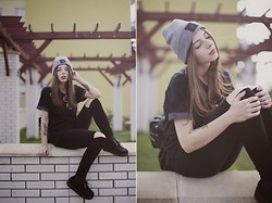 Krystyna Zimnicka - Chic Wish Black Leggings - 28/09/2014