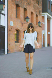 L T - Mbym Sweater, Zara Shorts - You and I