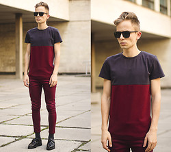 Daniil Shamatrin - Follow My Eyes Label T Shirt, Follow My Eyes Vintage Jeans - Silent