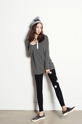 Fashion1164 - Fashion1164 Star Point Leggings - Star point leggings