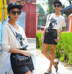 Rinx Martinee - Penshoppe Cap, Primadonna Shoes - CAT WOMAN