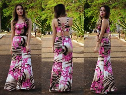 Priscila Figueredo - Maxi Dress - Different is good;