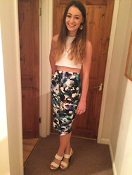 Jodie Boulton - H&M Top, Topshop Skirt, New Look Shoes - 061014