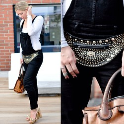 Fashiontwins - Stella Mccartney Shoes, Chloé Bag, H&M Latzhose - Dungarees style