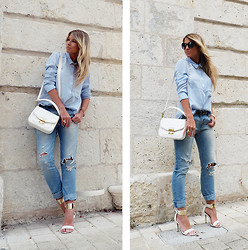 With Style andChic ' -  - Pastel Blue & Jeans