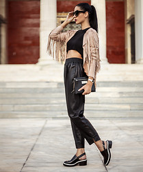 Konstantina Tzagaraki - Jacket, Crop Top - When things go bad, don't go with them..