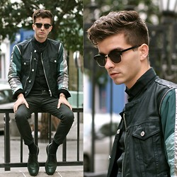 "Matthias C. - Asos Chino Pants, Dries Van Noten Jacket, Mister Spex Sunnies // Clubmaster Like, Shoes - ""Harpyes"""