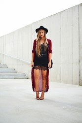 Layla .D - Zara Dress, Zara Heels, H&M Hat - October love