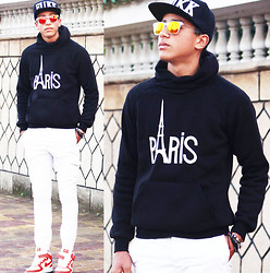 Abdrahim Msiah - Giantvintage Sunglasses - MORNING PARIS