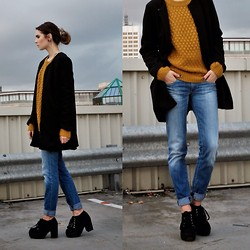Claudia Michon - M&S Jacket, H&M Jumper, Diesel Jeans, Truffle Shoes - I believe I can fly