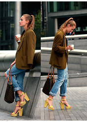 Marie-Louise Fischer - Zara, Reiss Top, No Name Vintage - Just like that