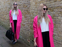 Laura Rogan - Asos Duster, Oasap Sunnies, Boohoo Top, New Look Culottes, H&M Bag, Deichmann Shoes - Duster