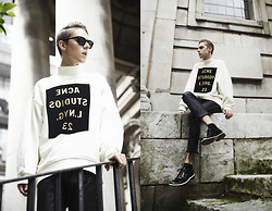 Mikko Puttonen - Acne Studios Sweater, Isabel Marant Leather Pants, Viktor And Rolf Shoes - Waste of time