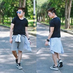 Jared Caagbay - Nike Air Force Ii, F&F Muscle Tee, Sunnies By Charlie - 1.0