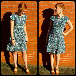 Elise M. - Mata Traders Retro Dress, Cuplé Retro Shoes - Jazz