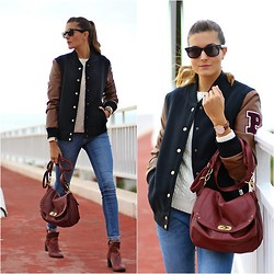 Marianela Yanes - C&A Jacket, Daniel Wellington Watch, Nowistyle Bag - College Style
