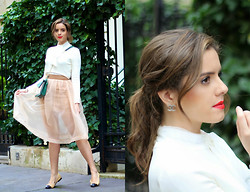 Leonor Castro - Skirt, Chanel Ballerina Flats - Pure Lights