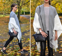 Wendy H G -  - On the go: Nike Frees & another poncho...
