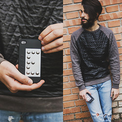 "Elia Franceschetti - Anyshapes Phone Case 3d, Anerkjendt Sweaters, Cheap Monday Jeans - My first phone-case 3D ""Anyshapes"" :)"