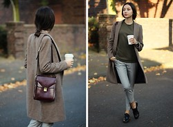 Bea G - Sweater, Coat, Trousers, Bag, Shoes - Coffee Break