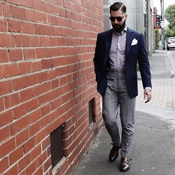 Jared Acquaro - Libera, Oscar Hunt Tailors, Boglioli, Loake - Fresh Cut