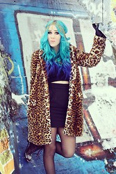 Veera Kemppainen - Zara Fur Coat, Asos Headband - I generally avoid temptation, unless i can't resist it