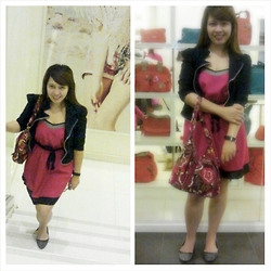 Ytalia Baguio - Hollister Dress, Vera Bradley Colletions Bag - Ladylike