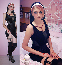 Ashi Monster - Iron Fist Clothing Cross Platforms - Dead nun