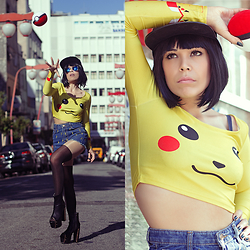 Priscila Diniz -  - Pikachu I choose you!