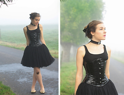 Dayskyfairy M - Tutu Skirt - Black Swan