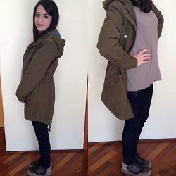 Valeria - Terranova Parka, Hogan Shoes - College day
