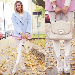 Ana Maria Oprea - Choies Pastel, Jeffrey Campbell Jc, Dkny - My pastel CRUSH///anamariaoprea.com