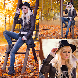 Oksana Orehhova - Yoins Jacket, Soorty Jeans - ADVENTURING TIME!
