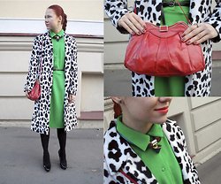 Jenny Danilkova - Concept Club Dress, Miu Heels, Rokit Bag - Inspired by Moschino