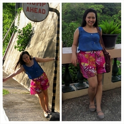 Ytalia Baguio - Apartment Eight Top, Coco Cabana Skirt, Crocs Bellerina Flats - Let's get carribean