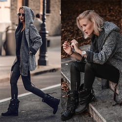 STREETCHATELLA ♥ - Free People Coat, Free People Boots - AUTUMN VIBE
